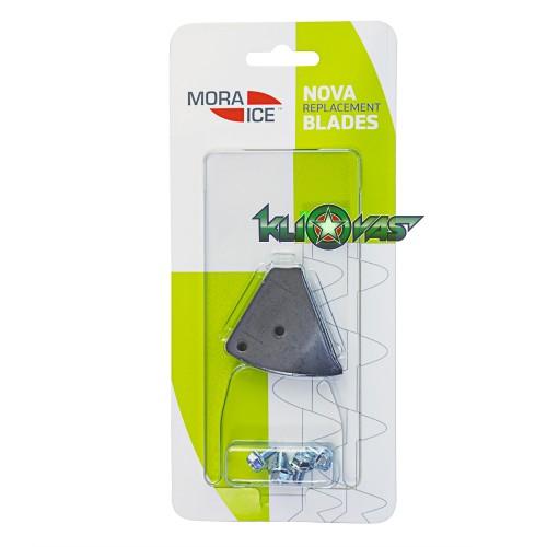 Peiliai grąžtui Mora Ice Nova 110mm su 4 varžtais