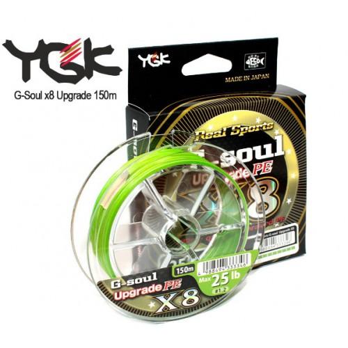 Pintas valas YGK G-Soul UpGrade X8 150m